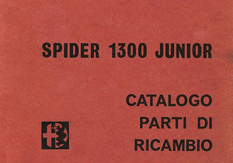 Catalogo Spider 1300 Junior